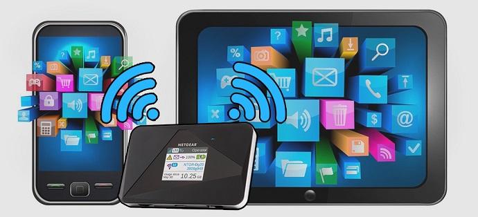 와이파이 스마트폰 화면