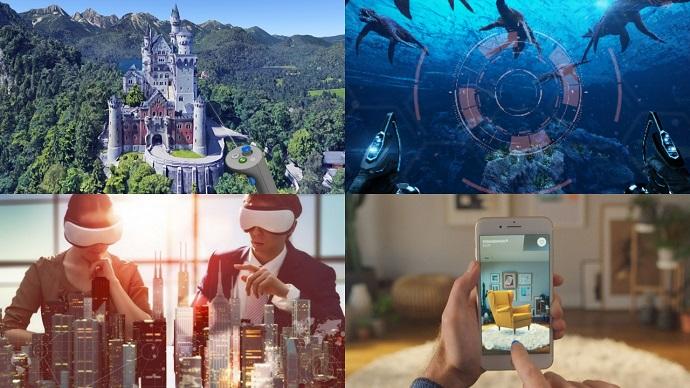 가상현실기술(AR, VR, MR)을 이용하여 달라지는 미래 사진