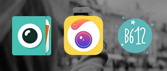 셀카 관련 앱 모음