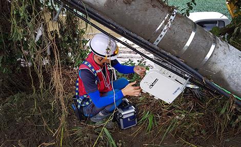 SK텔레콤은 청주 등 충청도 지역에 22년만에 내린 기록적인 폭우에 원활한 통신서비스를 제공하기 위해 현장 대응에 나서고 있다고 18일 밝혔다.