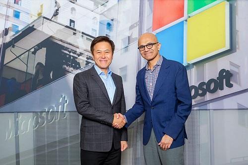 SK텔레콤이 마이크로소프트와 5G, AI, 클라우드 등 첨단 ICT 분야에서 포괄적 협력을 강화한다.