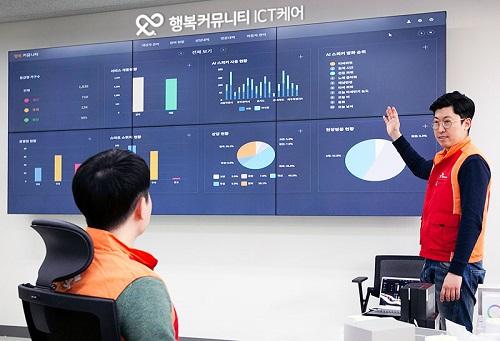 SK텔레콤과 행복한 에코폰이 4월 1일~5월 31일까지 두 달간 독거 어르신들이 AI스피커 '누구'를 통해 '인공지능 돌봄 서비스'를 사용한 패턴을 분석, 그 결과를 9일 공개했다.