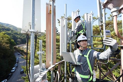 KT가 10월 중순부터 시작되는 본격적인 가을 단풍철을 맞아 전국 대표 명산에 5G 커버리지를 구축하고 서비스 제공에 나선다고 9일 밝혔다.