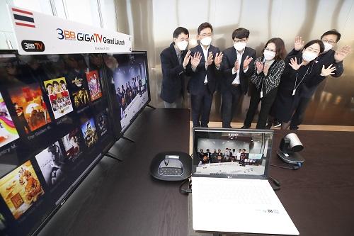KT는 태국 3BB TV社에 KT 올레TV 플랫폼 기술을 제공해 개발한 '3BB GIGATV'가 상용 출시되었다고 26일 밝혔다.